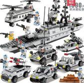 世標積木男孩子5衡軍事6拼裝警察10兒童益智玩具8歲12禮物HRYC【快速出貨】