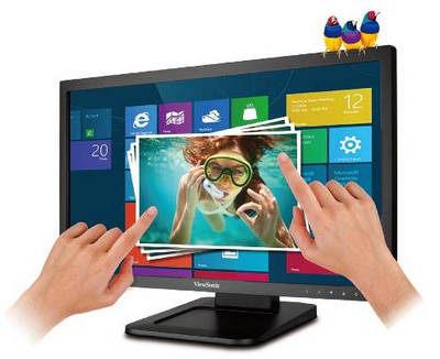 現貨! 優派 ViewSonic TD2220-2 22型寬光學觸控高動態對比液晶 (無喇叭)