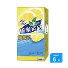 雀巢茶品檸檬茶300ml*6入【愛買】...