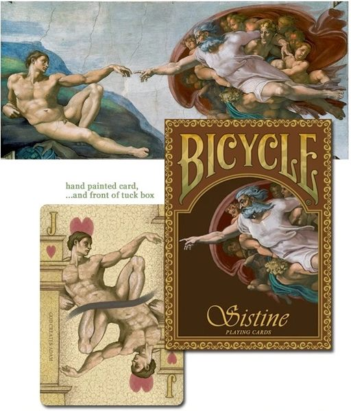 【USPCC 撲克】 Limited Edition Sistine Playing Cards 西斯廷
