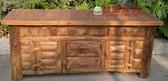【大熊傢俱】海尼根 電視櫃 原木 長櫃 矮櫃 實木櫃 老柚木電視櫃 餐櫃 置物櫃 收納櫃