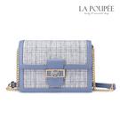 側背包 清新感格紋呢料時尚小方包 2色-La Poupee樂芙比質感包飾 (現貨+預購)
