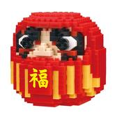《 Nano Block 迷你積木 》NBH_195 達摩╭★ JOYBUS玩具百貨