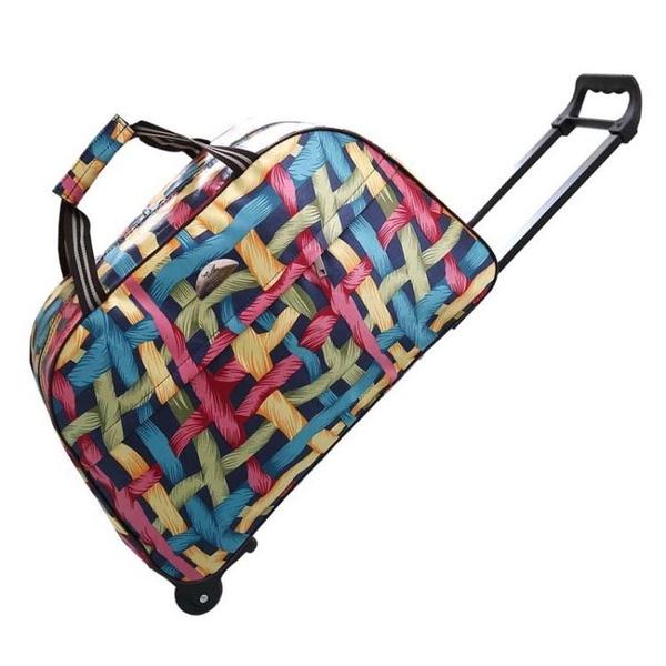 拉桿包 旅行包男女手提包旅游包男登機箱大容量短途行李包袋摺疊  ATF  魔法鞋櫃