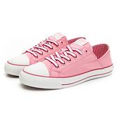 PONY Shooter女款粉色踩腳跟帆布鞋-NO.02W1SH03PK
