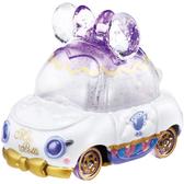 迪士尼夢幻珠寶小汽車 粉鑽蝴蝶結小車 茶壺太太_ DS13978
