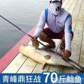 釣魚竿 漢鼎魚竿手竿超輕超硬19調台釣魚竿碳素黑坑魚竿黑棍鯉羅非竿釣魚竿   DF 科技藝術館