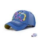 棒球帽 牛仔布字母-戶外防曬情人節生日禮物男女鴨舌帽2色73da10【時尚巴黎】