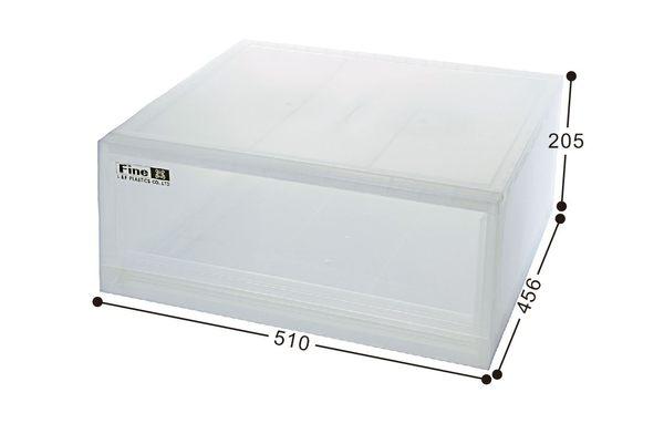 【好市吉居家生活】嚴選聯府KEYWAY~LF-5101 抽屜式整理箱 收納箱 抽屜收納