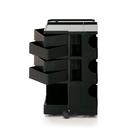 【預購】B-Line Boby Storage Trolly Mod.M H73.5cm 巴比 多層式系統 收納推車 - 高尺寸 (四抽屜收納) 黑色