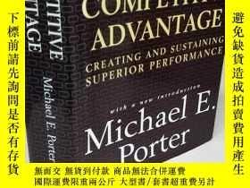 二手書博民逛書店Competitive罕見Advantage:Creating and Sustaining Superior P