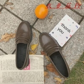 學院風文藝二次元少女鞋低跟小皮鞋 衣普菈 衣普菈