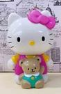 【震撼精品百貨】Hello Kitty 凱蒂貓~三麗鷗 KITTY 拉震玩偶玩具-粉#15693