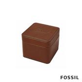 FOSSIL 真皮懷舊錶盒首飾盒