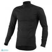 【速捷戶外】瑞士ODLO 152012 機能銀纖維長效保暖底層衣高領(黑) 男