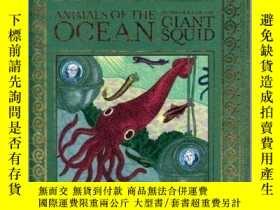 二手書博民逛書店Animals罕見of the Ocean, in Particular the Giant Squid海洋動物: