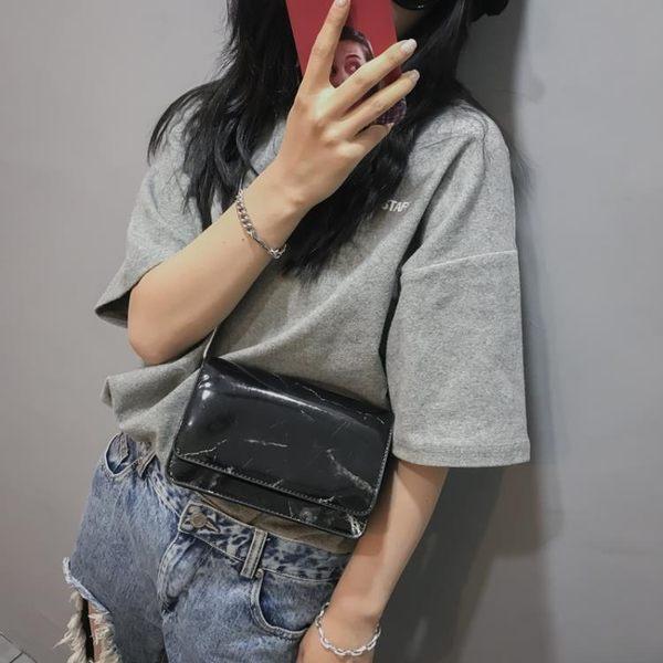 夏天小包包女 迷你2018新款潮韓版百搭斜挎潮超火鏈條chic小方包