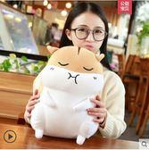倉鼠公仔娃娃毛絨玩具可愛韓國玩偶女孩睡覺暖手抱枕捂手枕禮物萌igo 曼莎時尚
