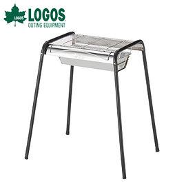 丹大戶外【LOGOS】日本 ROSY 2WAY BBQ烤爐 M號 81601400