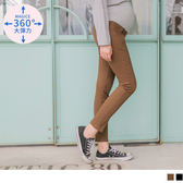 《MA0185》魔術360~高棉簡約素色休閒孕婦長褲 OrangeBear