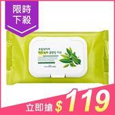 韓國 FROM NATURE 綠茶保濕卸妝濕巾(80抽加量版)【小三美日】$139