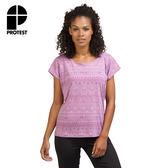 PROTEST 女 FIT系列 運動T恤 (野莓色) ROSEY T-SHIRT
