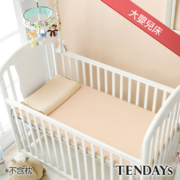 TENDAYs 水洗透氣嬰兒床墊大單(6cm厚記憶床)-不含枕