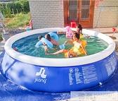 超大號成人嬰兒童充氣游泳池寶寶小孩家用洗澡池家庭戶外大型加厚  中秋特惠 YTL