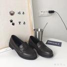 皮鞋日系學院風百搭女中學生棕黑皮鞋動漫女仆萬用制服鞋 HR345【極致男人】