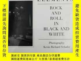 二手書博民逛書店Element:rock罕見and roll in black