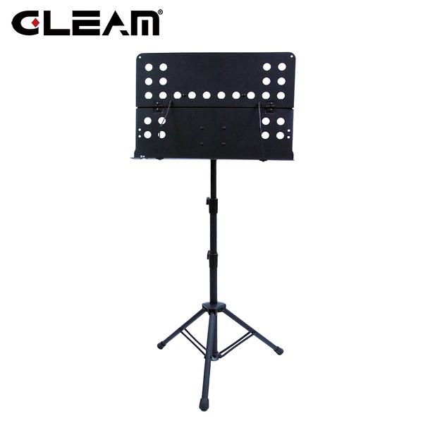 【敦煌樂器】Gleam GMS-007 BK 摺疊式大譜架含收納專用袋