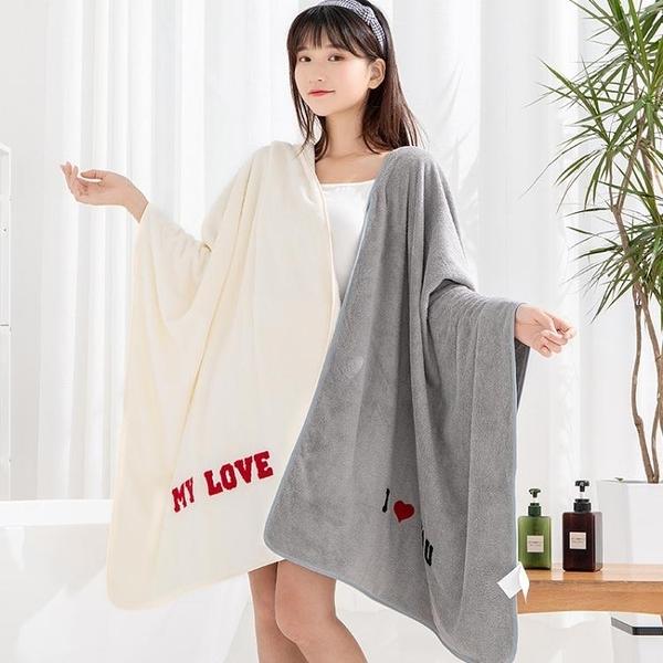 浴巾 浴巾家用男女嬰兒比純棉吸水裹巾兒童大毛巾速干不掉毛可愛加厚
