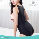 【Marena 瑪芮娜】強效完美塑形系列 腹部加強美體膝上型塑身衣 可拆式肩帶-黑色