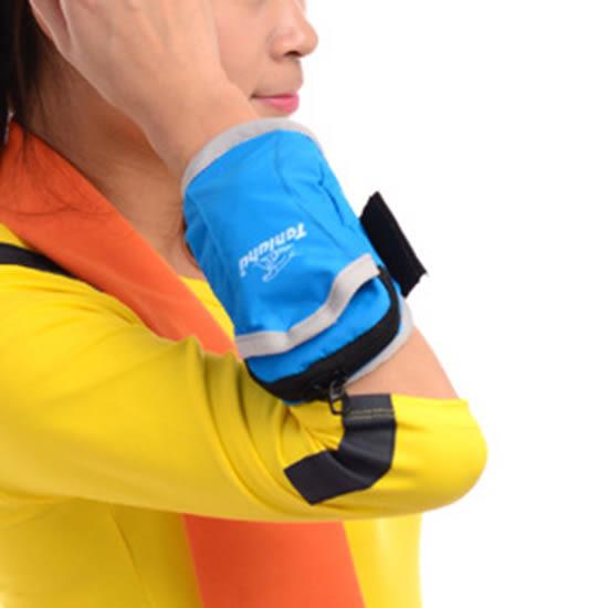 ♚MY COLOR♚休閒戶外運動臂包 防潑水 旅遊 多功能 登山 耐用 運動用品 輕便【P320】