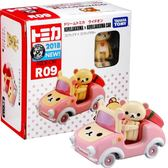 《 TOMICA 》TM騎乘系列  粉紅拉拉熊╭★ JOYBUS玩具百貨