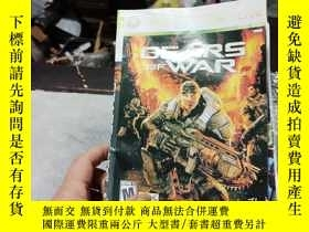 二手書博民逛書店遊戲光盤罕見XBOX 360 GEARS OF WAR ( 光盤