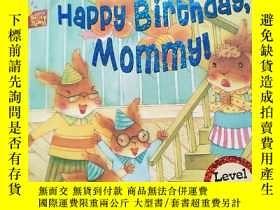 二手書博民逛書店happy罕見birthday mommy【生日快樂媽媽】2-3