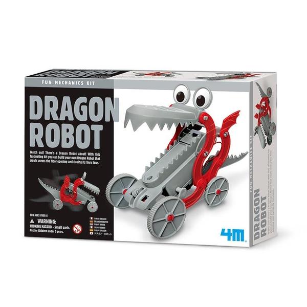 《4M科學探索》快跑機械龍 Dragon Robot╭★ JOYBUS玩具百貨