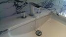 【麗室衛浴】德國頂級HANSGROHE  PuraVida 三孔臉盆龍頭 (白/鉻) 15073400  數量有限 歡迎詢問