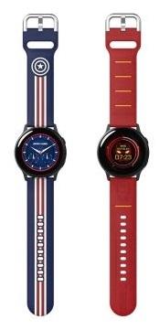 SAMSUNG Galaxy Watch Active MARVEL 漫威替換錶帶 原廠配件