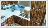 ❤ PK廚浴生活館 ❤ 高雄櫻花流理台 L型流理台 人造石台面 櫻花三機 電器櫃 電熱水器櫃