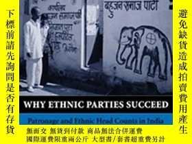 二手書博民逛書店爲什麼民族主義政黨能夠成功?Why罕見Ethnic Partie