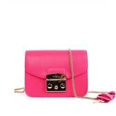 【FURLA】小牛皮cross body (MINI)BABY款(糖果粉) 820747 PINKY