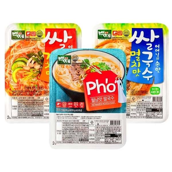 韓國 百濟米麵線(1入) 款式可選【小三美日】$49
