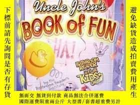 二手書博民逛書店Uncle罕見John s Book of Fun Bathroom Reader for Kids Only!奇