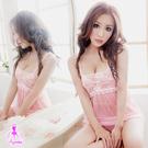 性感睡衣 美麗丰采!柔紗二件式睡襯衣 SEXYBABY 性感寶貝SNA11020176