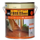 木質地板耐磨清漆透明亮光1.8L