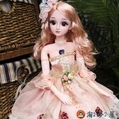芭比洋娃娃玩具60厘米單個套裝女孩玩具可愛【淘夢屋】