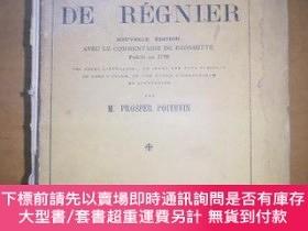 二手書博民逛書店法文原版毛邊書:DE罕見REGNIER 1948年Y47089 M PROSPER POITEVIN PARI