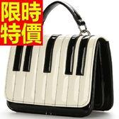 手提包-鋼琴鍵簡約設計女肩背包56t26【巴黎精品】